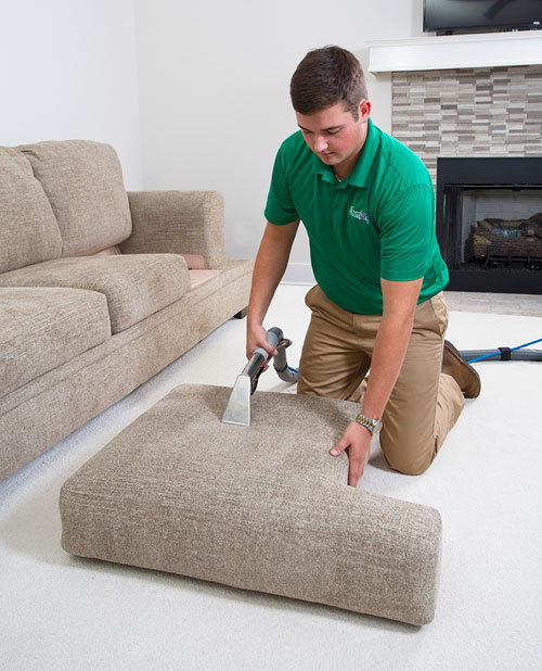 Ivy Green Chem-Dry professional upholstery cleaning in Corona CA