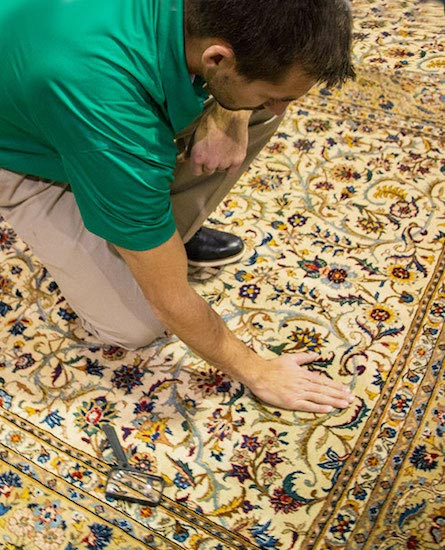 Professional Area and Oriental Rug Cleaning by Ivy Green Chem-Dry in Corona CA